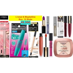 L'oreal & Maybelline (Box  12 pc)