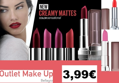 Maybelline New York Color Sensational Creamy Mattes rouge a levres